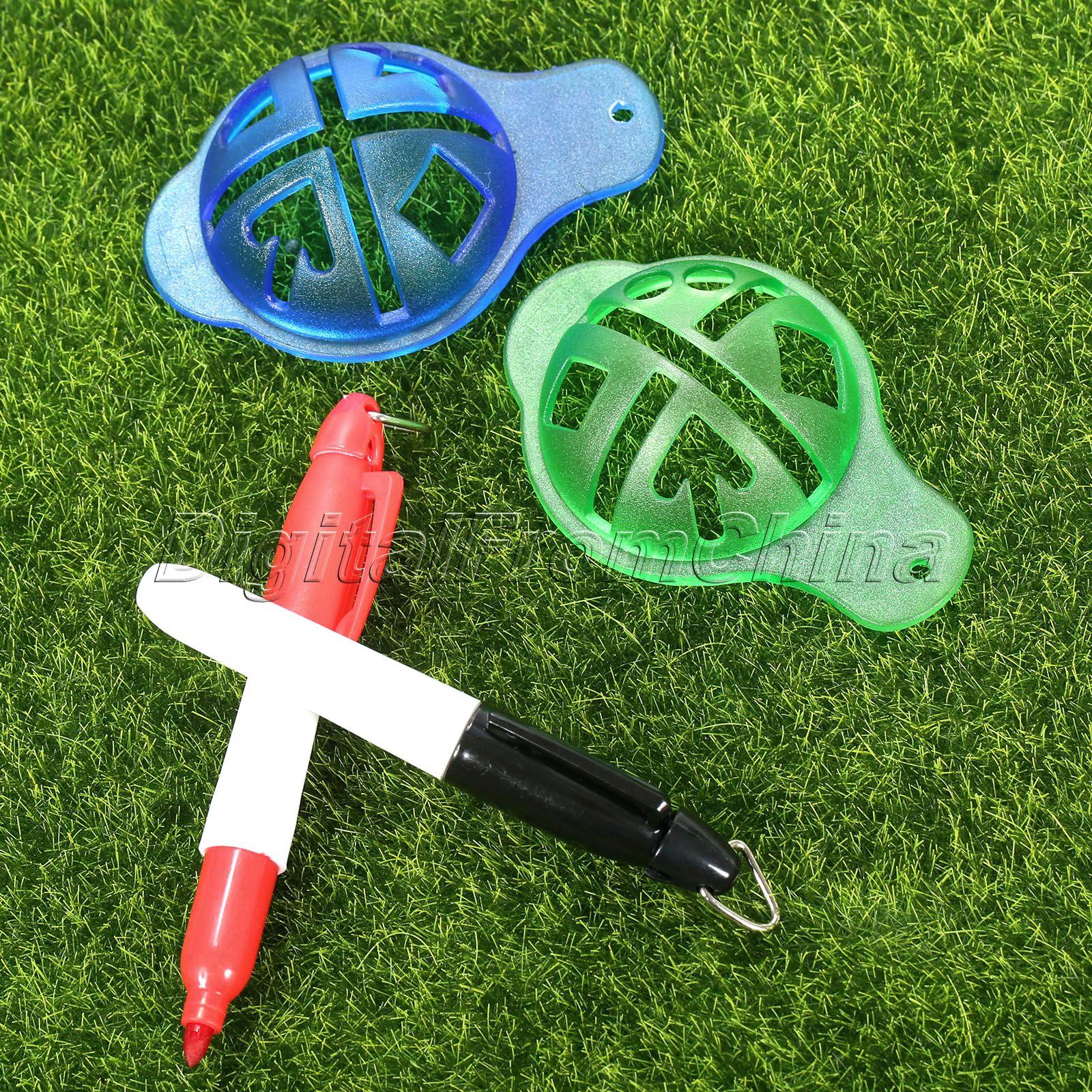 gohantee Golf Ball Liner Marcator Pen Ball Strokes Golf Formare SIDA - Golf - Fotografie 6