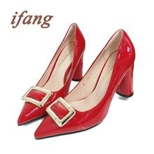 ifang Women Wedding Pumps Victoria Shoes Woman 2016 Women Metal Sequined Party Pumps Women's Shoes Bridal High Heels