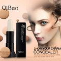 Qibest 3D Concealer Face Makeup Foundation Women Cosmetic Contour Palette High Light Bright Bar Repair Capacity Cream