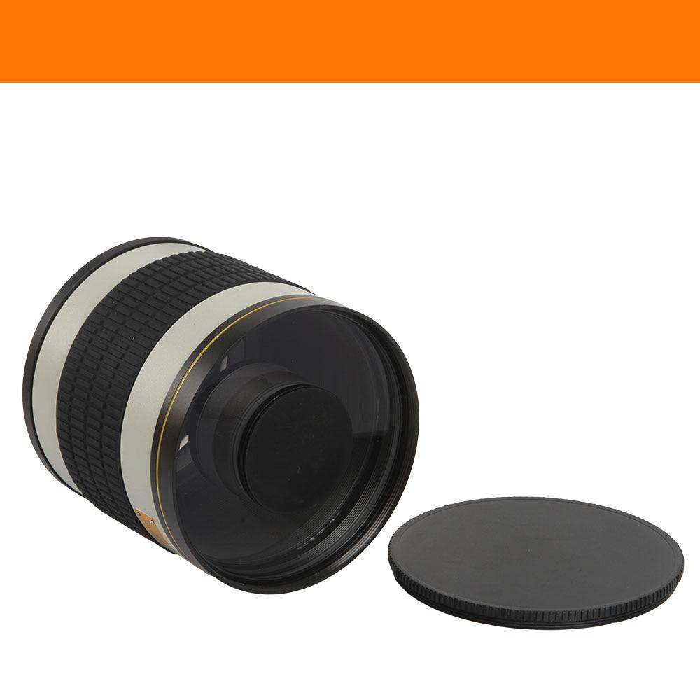 Lente espejo teleobjetivo F / 6.3 de 500 mm + anillo adaptador de - Cámara y foto - foto 3