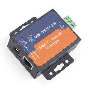 Image 5 - USR TCP232 304 seri RS485 tcp/ip Ethernet sunucu dönüştürücü modülü dahili web sayfası DHCP/DNS desteklenen modülleri Q14870