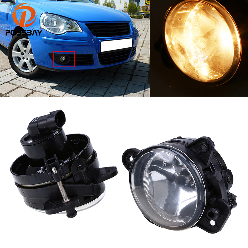 09-14 Right Hand O//S Front Fog Light Excl. GTi Volkswagen Polo Mk.5