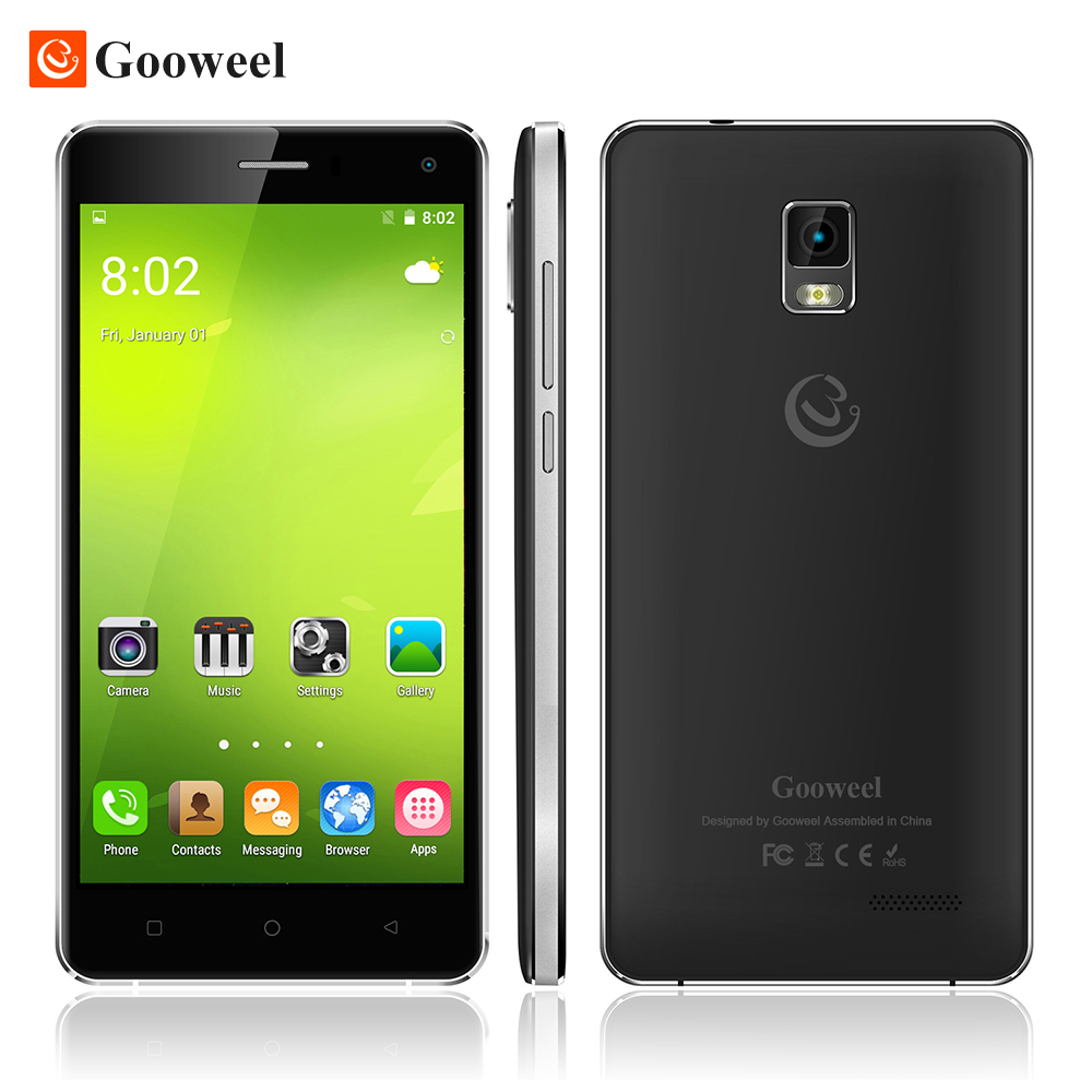 Free Flip case Gooweel M13 Plus 4G Smartphone Android 5 1 mobile phone MTK6735P Quad Core
