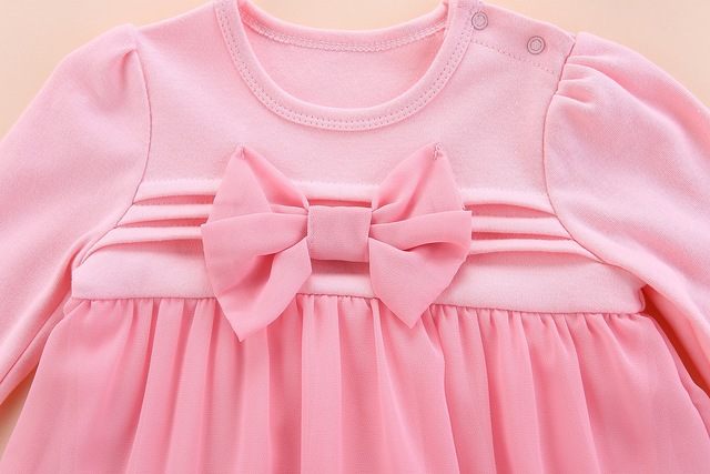 new born baby clothes long sleeved fall cotton lace baby girls romper autumn 2018 baby girl clothes set dresses denim 0 3 months