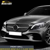 Gelinsi для Mercedes Benz C class w205 передний бампер передний гриль отделка интимные аксессуары авто