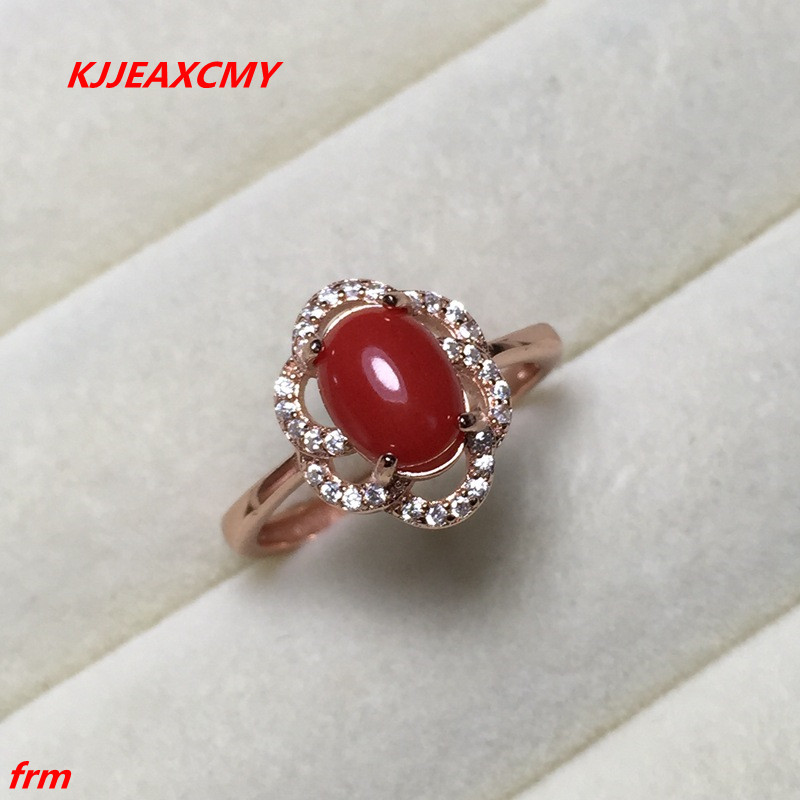 KJJEAXCMY Fine jewelry 925 support identification of natural seabed organic gem corals with natural natural seabed цена 2017