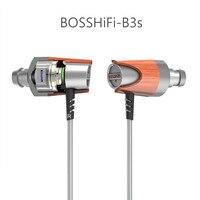 100 Newest Original BOSSHiFi B3S 3 5mm In Ear Earphone 1BB 1BA Hybrid Drive Wood Earphone