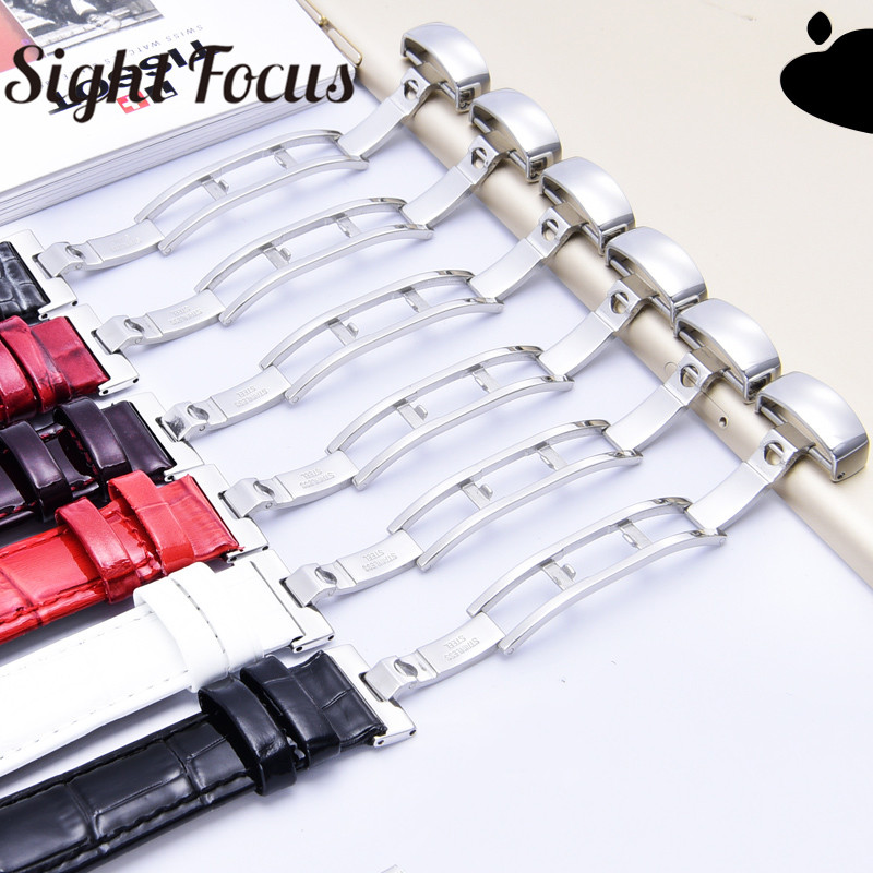 Image 3 - 18mm Patent Leather Ladies Watch Strap for Tissot Watch Bands 1853 Woman Bracelets Clock Female Belts for Couturier T035210 207-in Watchbands from Watches