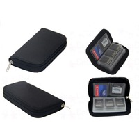 Memory Card Storage Carrying Case Bag Wallet For CF SD SDHC MS DS 3DS Games