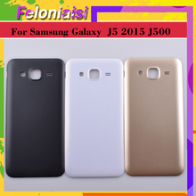 10Pcs/lot For Samsung Galaxy J5 2015 J500 J500F J500H J500M Housing Battery Cover Back Cover Case Rear Door Chassis Shell стоимость