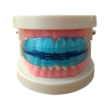 1 Pcs Dental Tooth Orthodontic Appliance Trainer Alignment Braces Mouthpieces