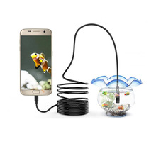 3-in-1 USB Endoscope Hard Cable 720P Endoscopy Camera For Android Type-c PC Waterproof Snake 2/5/10M