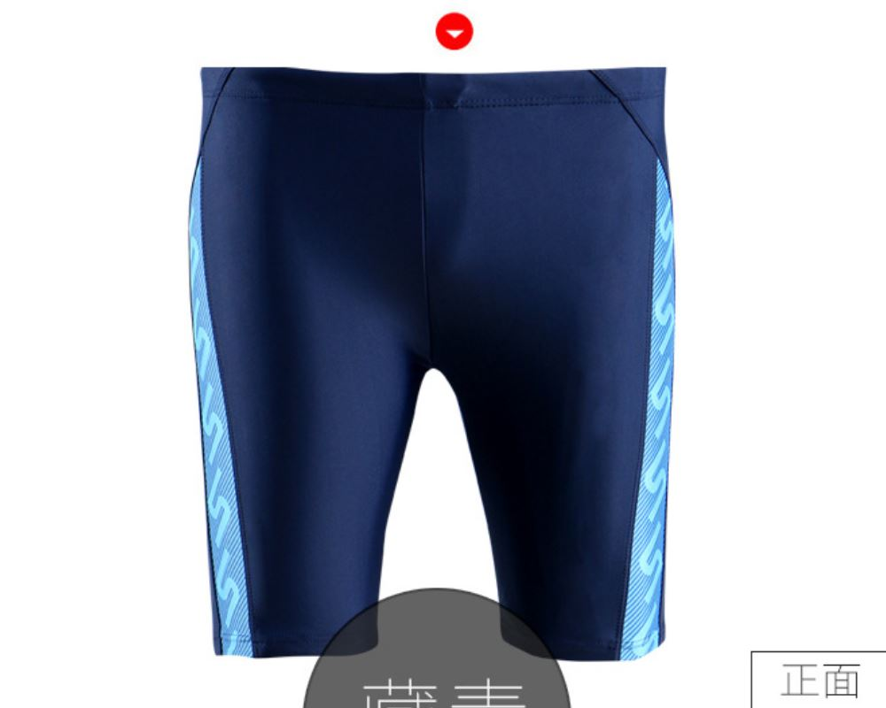 2018 Swimwear Men Shorts swimsuit Competitive Bathing suit Competition Trunk Waterproof Beach Tight Briefs Plus Size Black Blue