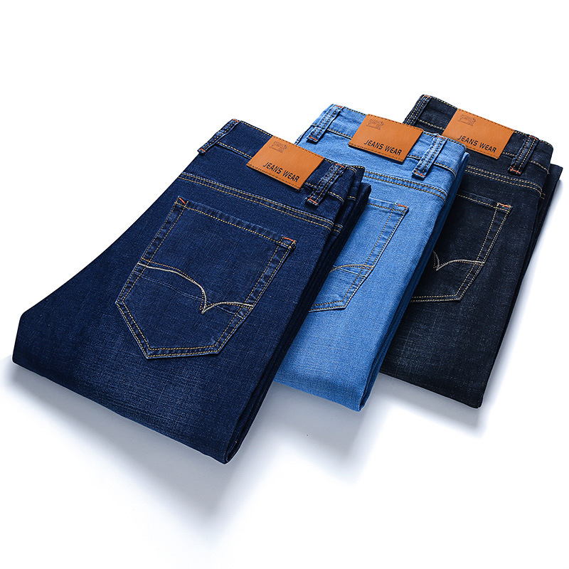 New Jeans For Mens Slim Fit Pants Classic Jeans Male Denim Jeans Designer Trousers Casual Skinny Straight Elasticity Pants