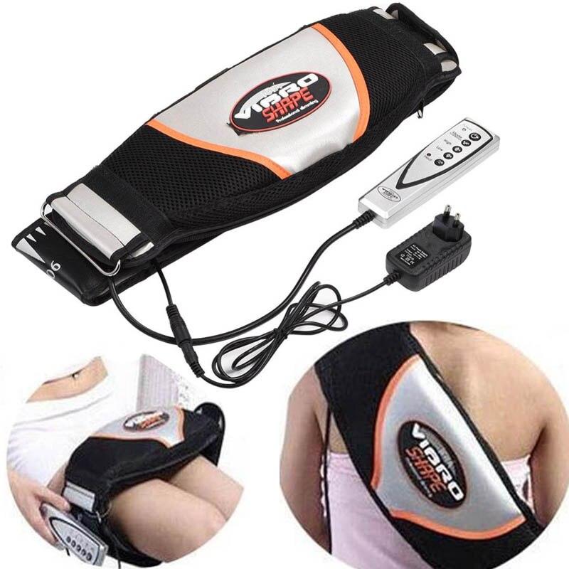 Men Slimming belt women Fat burning waist foot massager slimming belt electric massager vibrating modelling take care body heat