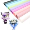 20 шт., 60 х60 см, яркий цветок, цветочпосылка бумага для упаковки подарков