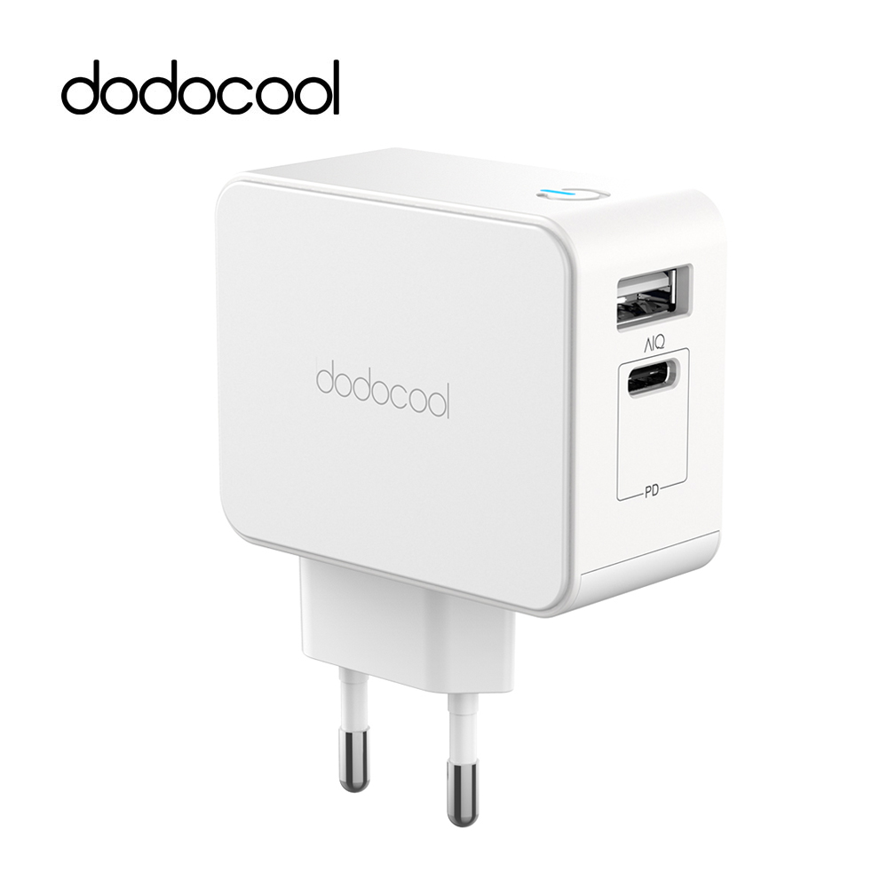 dodocool 30W USB Type C Charger for iPad Pro/iPhone X/XS/XR Samsung Fast Mobile