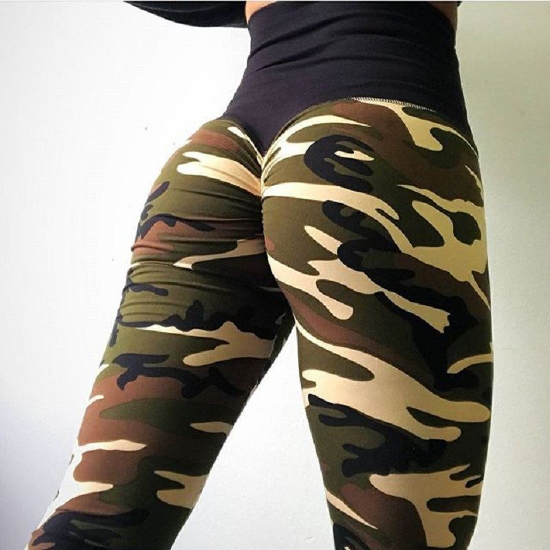 2a6ae2fb20 Detail Feedback Questions about Fashion Women Camouflage Pant High Waist  Hip Hop Camo Pant Girls Military Pant Jogger Dance Pant Fitness Sporting  Leggings ...