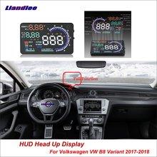 Liandlee Car Head Up Display HUD For Volkswagen VW B8 Variant 2017-2018 Dynamic Driving Computer HD Projector Screen Detector
