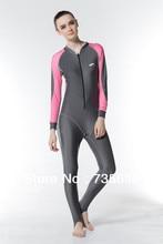 UPF50+ Lycra Women Rash Guard Swimming Diving Full Body Suit Wetsuit Surf Suit Diving Suit Men and Women Water Sport Suit