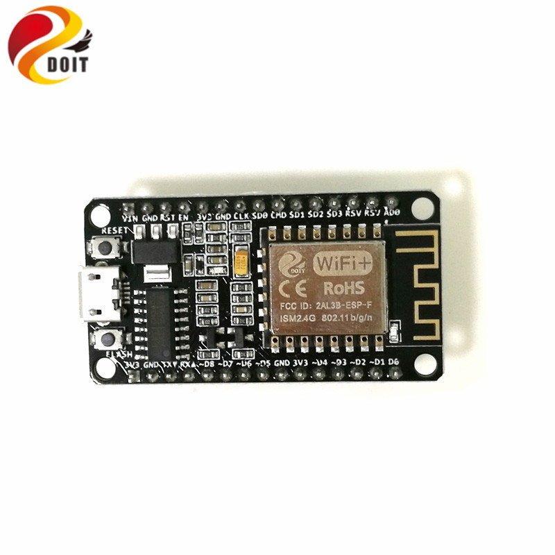 DOIT V3 New NodeMCU based on ESP-12F ESP 12F from ESP8266 Serial WiFi Wireless Module Development Board DIY RC Toy LuA RC Toy official doit mini ultra small size esp m2 from esp8285 serial wireless wifi transmission module fully compatible with esp8266