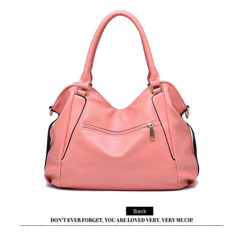 1d8498afb4bd7a L Leather Women's Handbag Luxury Women Bag Lady Hand Bags With Purse Pocket  2018 ...