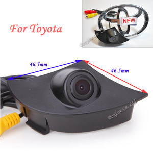 Parking Assistance CCD Special Front camera Reverse for Toyota/RAV4/Corolla/Camry/Prado/Highlander/Land Cruiser/Avensis/Auris
