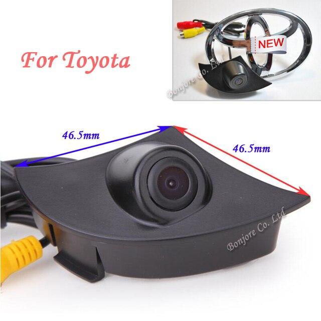Aide au stationnement CCD | Caméra frontale spéciale inversée pour Toyota/RAV4/Corolla/Camry/Prado/Highlander/Land Cruiser/Avensis/Auris