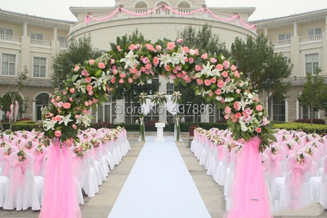 2014 Bridal chiffon decorative yarn for wedding party event flower ...
