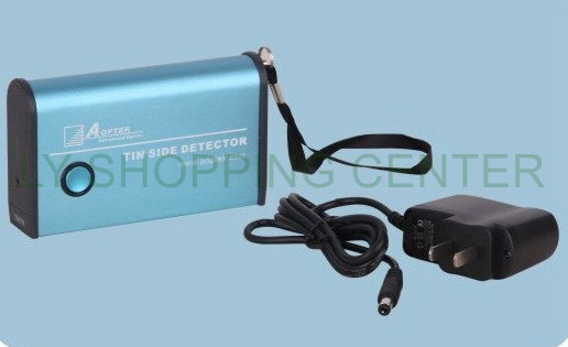 Rechargeable Hand held floating glass Tin Side Detector instrument