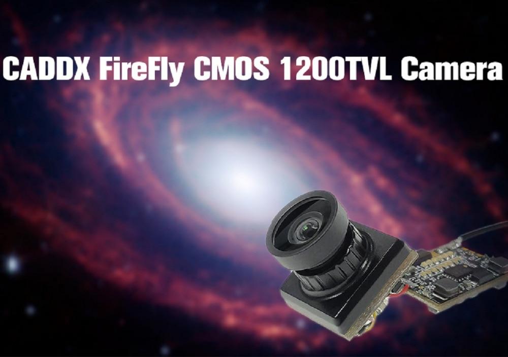 CADDX Kamera FireFly CMOS 1200TVL Mini Beleuchtung 2,1mm Objektiv FPV Kamera für RC Spielzeug