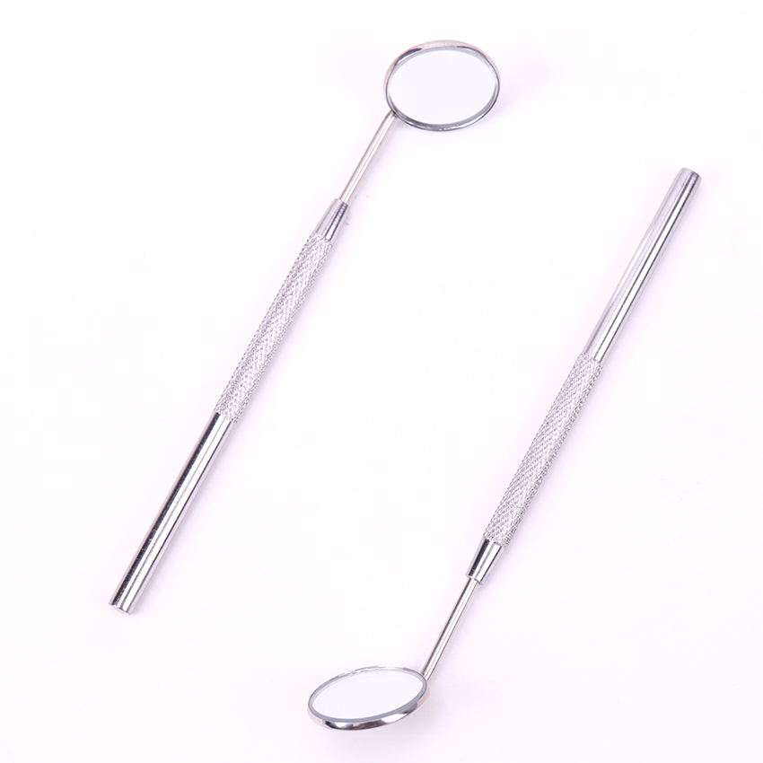 Stainless Steel Ear Wax Cleaning Tools Mirror Instruments Mouth For Checking Eyelash Extension Applying Eyelash ToolsTeeth Tooth