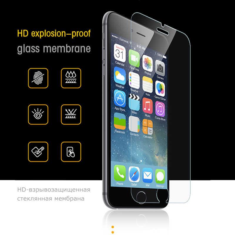 Защитное закаленное стекло на Xs Max 7 8 Plus для iPhone XS Max XR X 10 6 6s Plus 5s SE 5 Защитная пленка для экрана