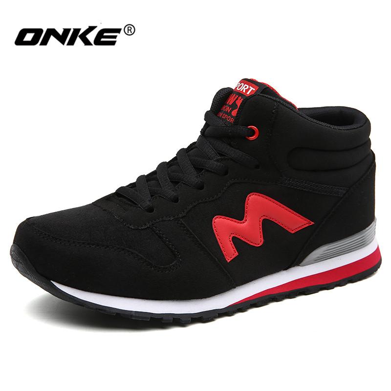 Prix pour Nouvelle marque onke mens chaussures de course léger femmes sneakers lovers sport chaussures de course hotsale marche chaussures taille 35-44