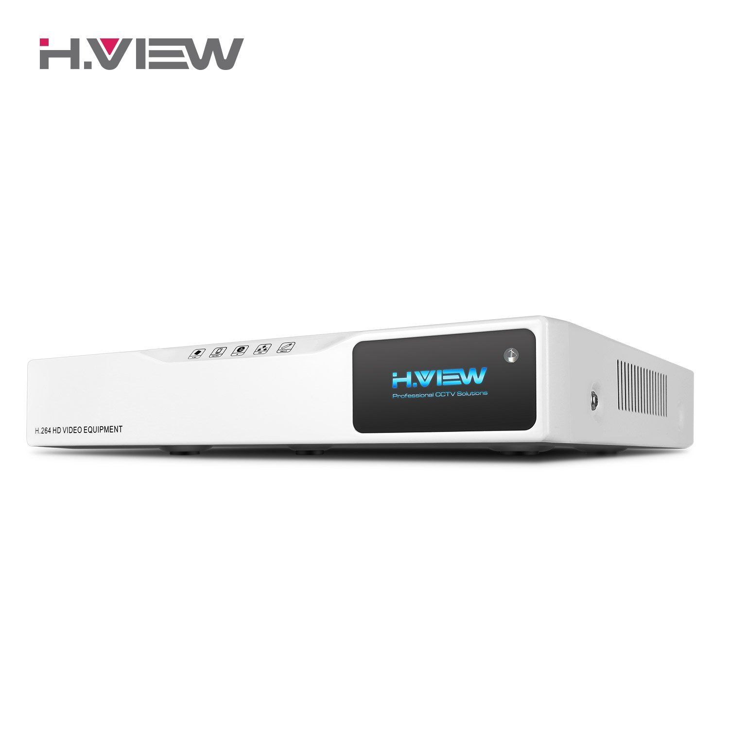 цена на H.VIEW 8CH DVR 1TB AHD DVR Network Video Recorder 1080N H.264 Digital Camera Recorder Surveillance Support 1080P AHD Cameras