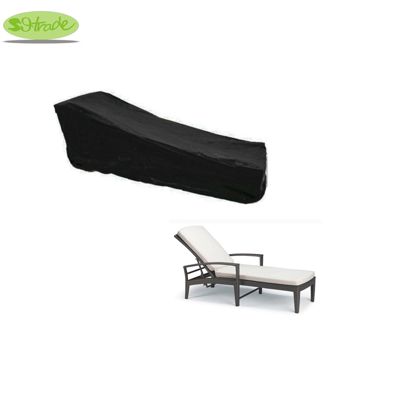 Livraison gratuite Protectiive Couverture pour salon En Rotin lit, 205x80x65 cm meubles couverture, imperméabilisé couverture pour le mobilier extérieur