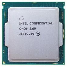 QHQF הנדסת גרסה של INTEL I7 6700K I7 6700 6700K Q0 SKYLAKE כמו QHQG 2.6G 1151 8WAY 95W DDR3L/DDR4