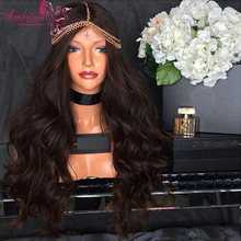 7A Natural Unprocessed 150% Density Human Hair Lace Front Wigs #1 #2 #4 Black Soft Brazilian Virgin Human Hair Full Lace Wigs