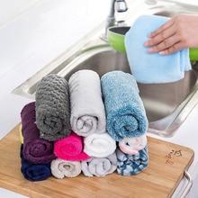 25*25 см маленькое мягкое полотенце микрофибра полотенце большое абсорбирующее полотенце для ванной кухни для мытья лица