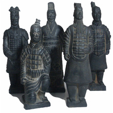 Terra Cotta Warriors clay soldiers statue qin dynasty old antique
