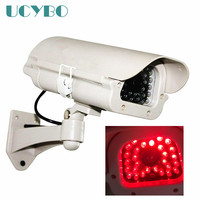 Home Dummy Fake Camera Red LED Lights Surveillance Outdoor Fake Dummy Wireless Cctv Security IR WIFI