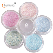 LOVE ALPHA 12 Colors Eye Shadow Flash Powder Super Bright Pearl Shining Bright Glitter Powder Pink Diamond Brand Makeup