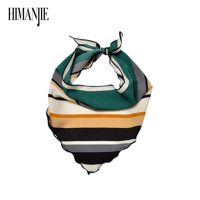 Scarf   Ribbon Headband Neckerchief Head Neck   Scarves   &   Wraps   Summer Lady Women Wide Suit Flamingo Print Small