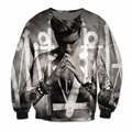 New Women Men Justin Bieber Hoodie 3D Sublimation print fleece Sweatshirt Crewneck Plus Size Fashion Clothing Sweats Jumper