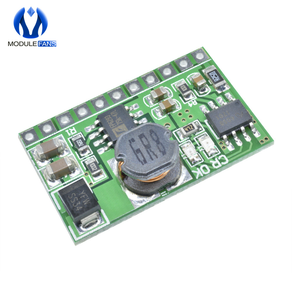 6V UPS Portable Power Diy Board 2in1 Charger /& Boost DC DC Converter Module