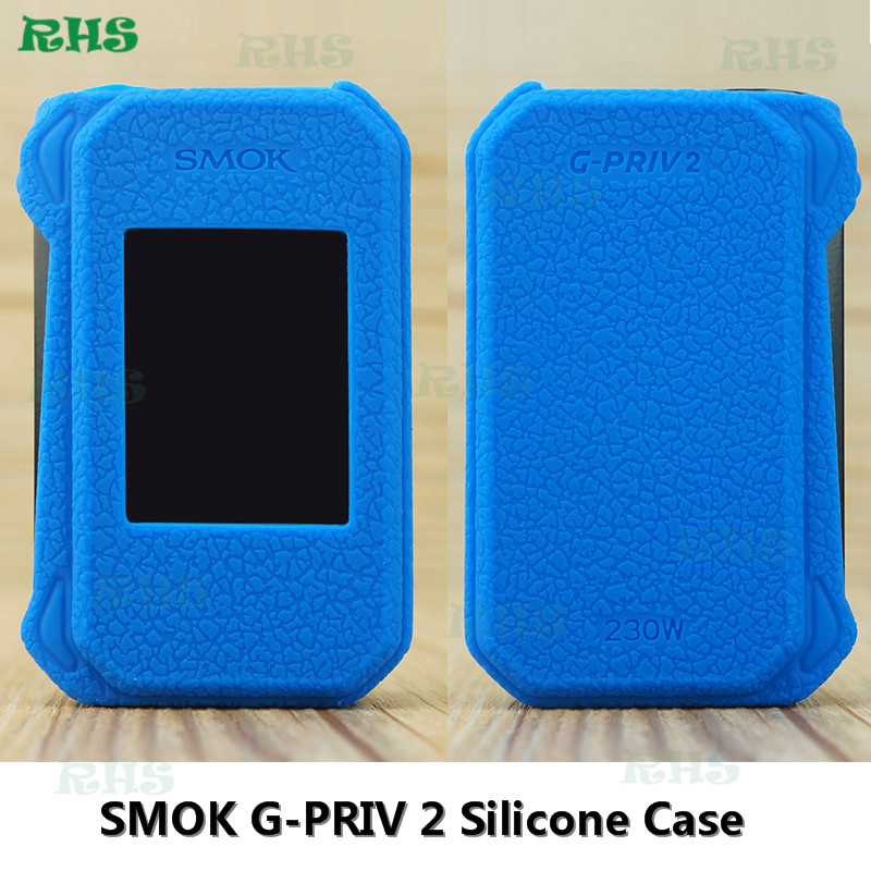 Colorful SMOK G-PRIV 2 Silicone Case Rubber Sleeve Protective Cover Skin For SMOK G-PRIV 2 Vape High Quality free shipping image