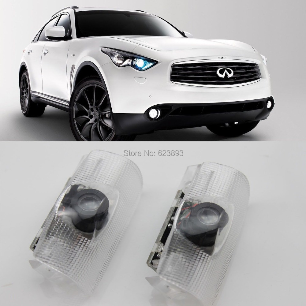 Free Shipping,4x Laser LED Door Courtesy Welcome Shadow Light For Infiniti  FX G35 M EX QX M37 In Car Light Assembly From Automobiles U0026 Motorcycles On  ...