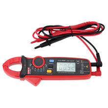 Auto Range Amperometric Clamp Meter AC/DC Current Voltage Resistance Capacitance Tester Multimeter Thermometer Current Pliers fluke 101 auto range digital multimeter for ac dc voltage resistance capacitance and frequency measurement