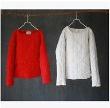 Зимой 2016 года выпуска продукции, качество бренда оригинальный дизайн свободно большие ярдов женщин хлопка