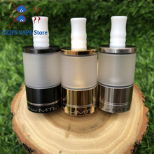Dvarw MTL v2 5ml Bigger oval hole chimney 316 stainless steel 22mm Rebuildable Tank vs Dvarw DL mtl rta drip tip 510 vape tank стоимость